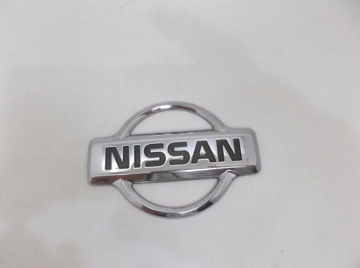 NISSAN QUEST EMBLEM 93-02 CHROME TAILGATE p/n  F3XA 16B621 LOGO badge oem X8 #NISSAN