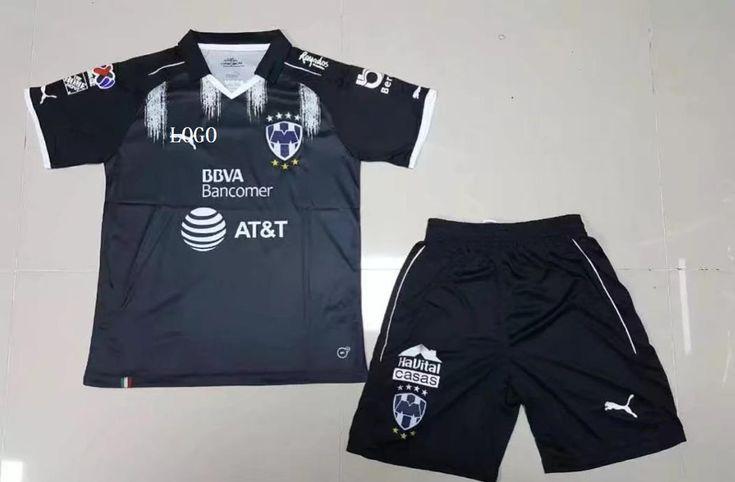 17/18 Adult Monterey Third Away Soccer Jersey Uniforms Men Club Soccer Team Uniform Wholesale