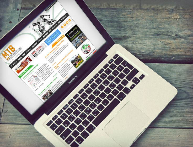 Sitio Web MTB desarrollado en CMS Joomla versión 3.2