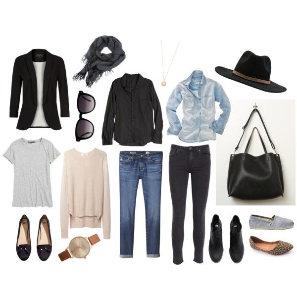 Mom Uniform - mix and match- basic. Easy to find something to pull on for a busy morning