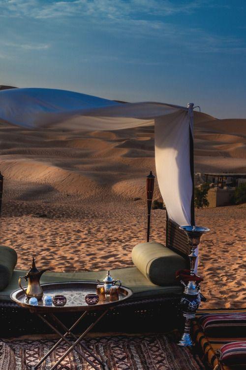Tea time in the Sahara, Morocco