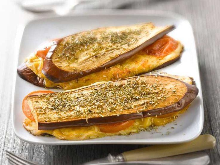 Croque monsieur d'aubergine, facile et pas cher