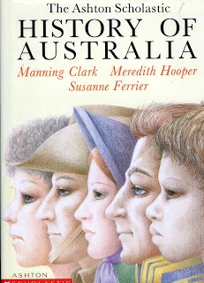 A peaceful day: Australian History Spines
