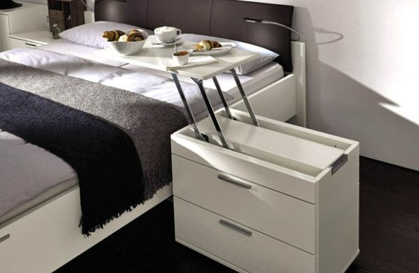 Interesting Bedside Tables 20 cool bedside table ideas for your room | bedrooms