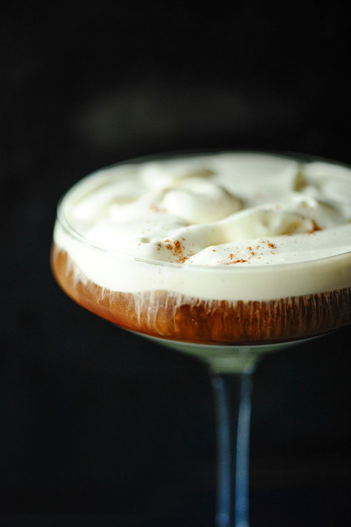 Sometimes coffee is a dessert in itself, especially when you add some rum and dulce de leche and top it with slightly sweetened whipped cream. Sweet decaden