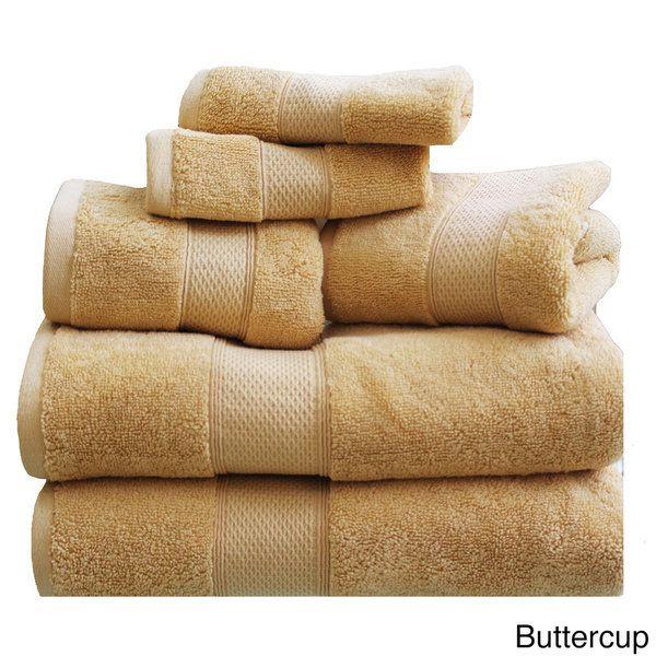 Hudson 100-percent Cotton 6-piece Towel Set