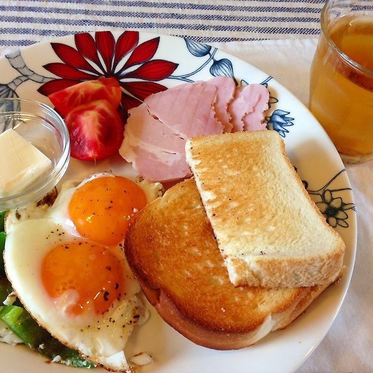 ワンプレート朝食☆