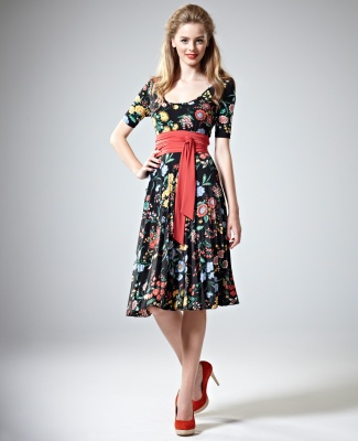 Kylie Dress by Leona Edmiston. From the plus size collection, although you wouldn't think it from looking at the model o_O