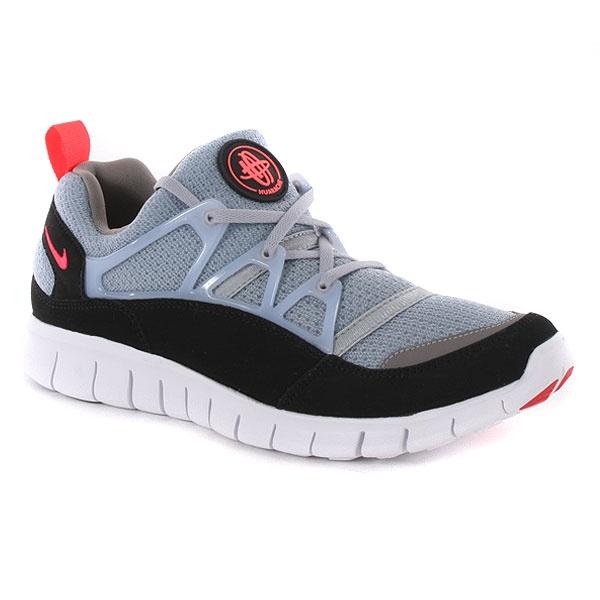 Nike Free Huarache Light Shoes - Wolf Grey-Infrared