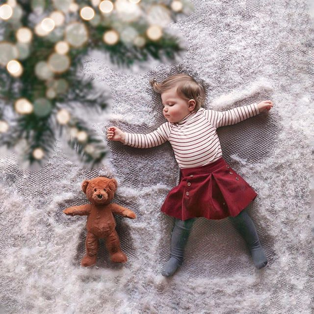 Slightly Majorly Excited That It S December 1st Naturally I Wanted To Mark The Occasion With A Festive Post But Toda Baby In Snow Baby Snowsuit Snow Angels