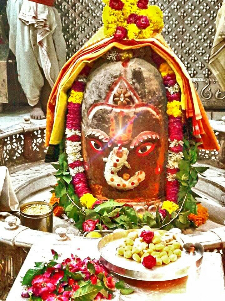 #Bhasma #Aarti pic of Shree #Mahakal #Ujjain -  Sept. 08  Visit the #holy city of Ujjain famous for its #Temples