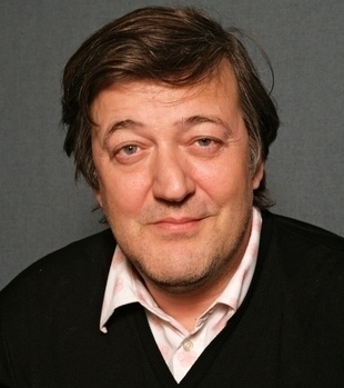 Steven Fry - of course. Is there any dinner party list he's not on??