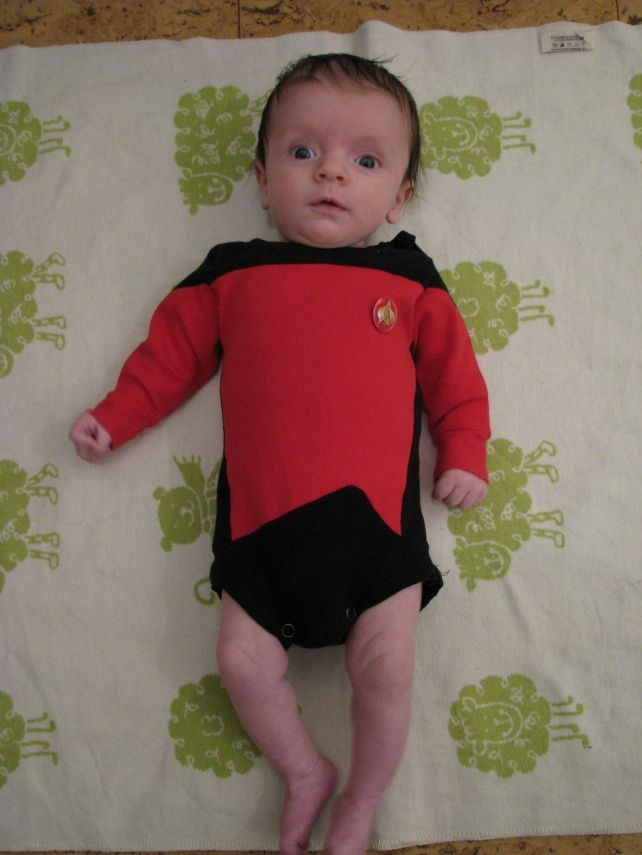 Baby Star Trek TNG Onesie | Sewing - Kid's Clothes ...