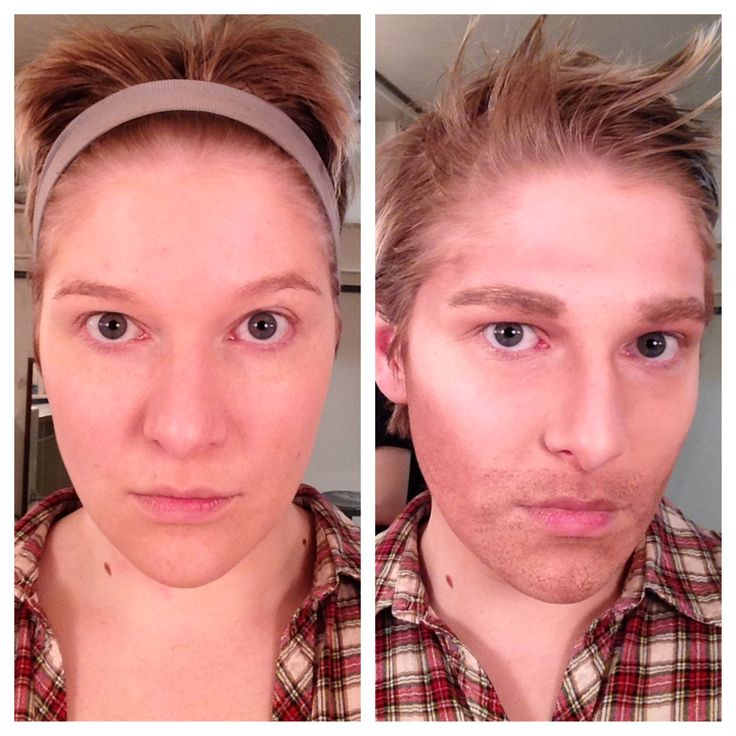 Gender Makeup #3. I wanted to play up my naturally