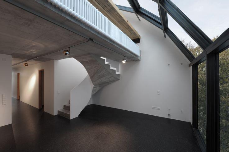 Loft | Stahlträger | Betonböden