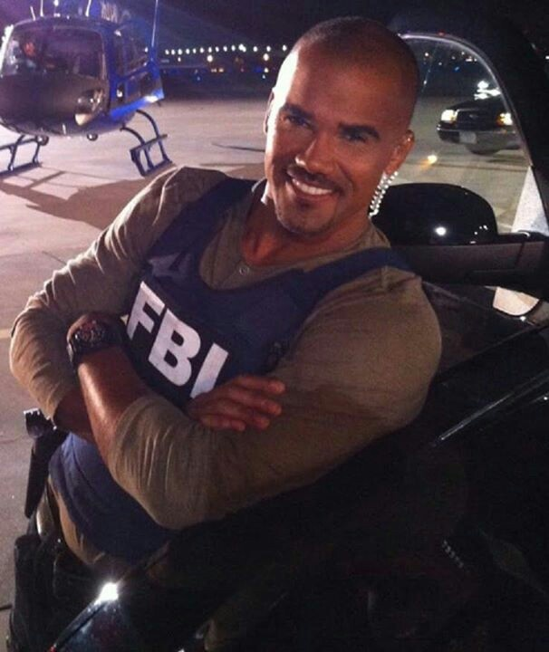 Criminal Minds Derek Morgan. Maybe I should rob a bank..