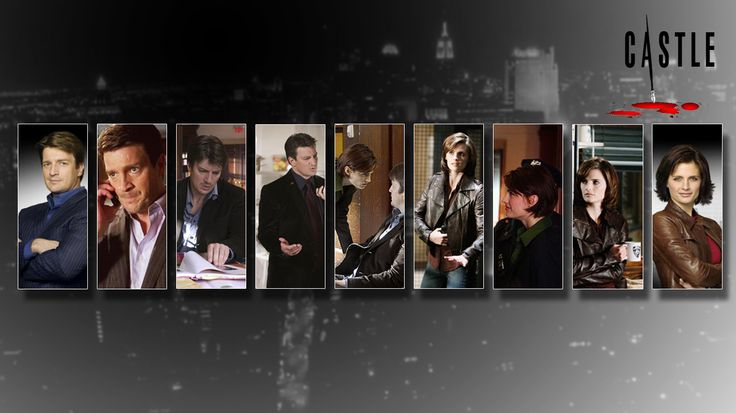 Stana Katic Forums Castle Abc Tv Series Show Nathan Fillion   Wallpaper