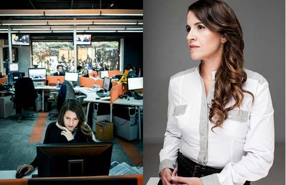 Monserrat Álvarez en revista Paula