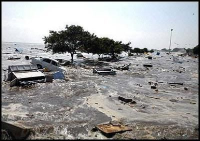 Aftermath of Tsunami in Aceh