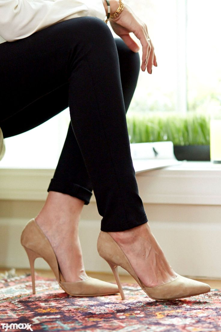 With A Versatile, Everyday Color, You Can Wear These Shoes To The Office, · Tj  MaxxBusiness ...