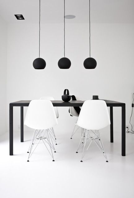 my scandinavian home: A black + white Danish power house