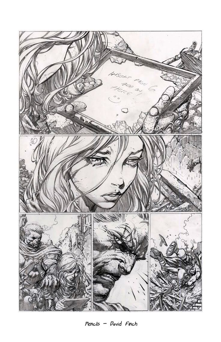 David_Finch_UltimateX_Pencils.jpg (1035×1600) #comics #mind  #nerds