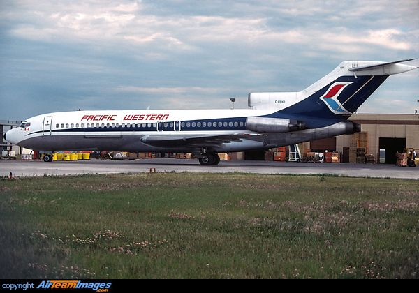 Pacific Western Airlines Boeing 727-100