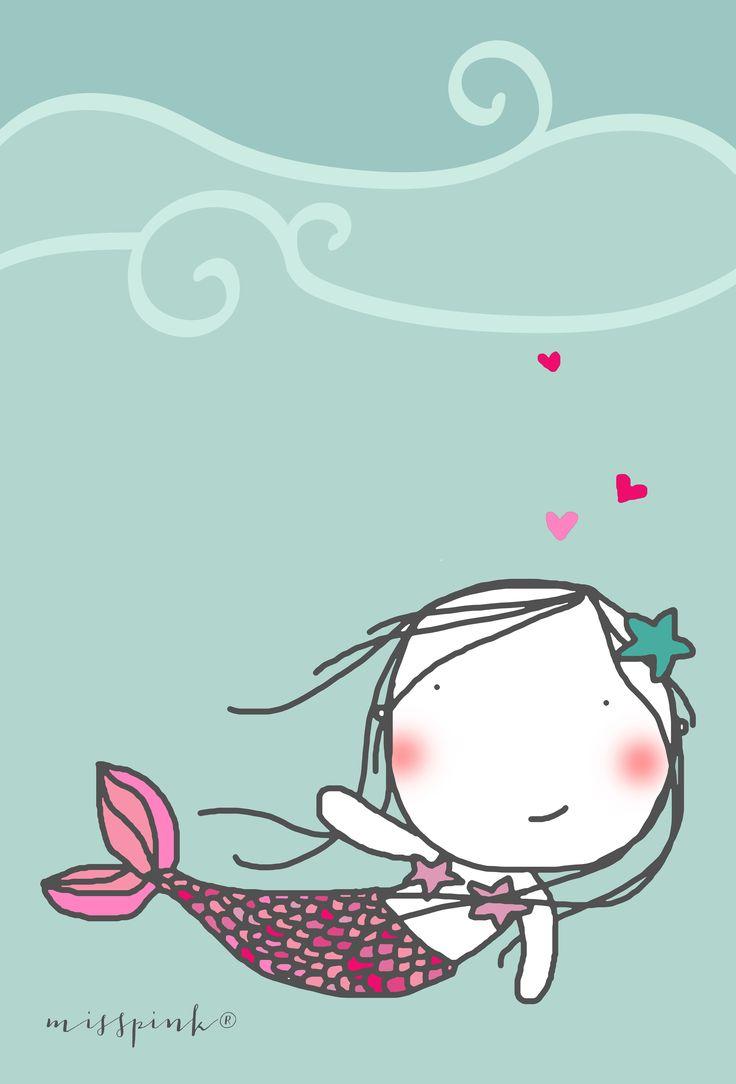 Sirenita.  www.misspink-misspink.blogspot.com