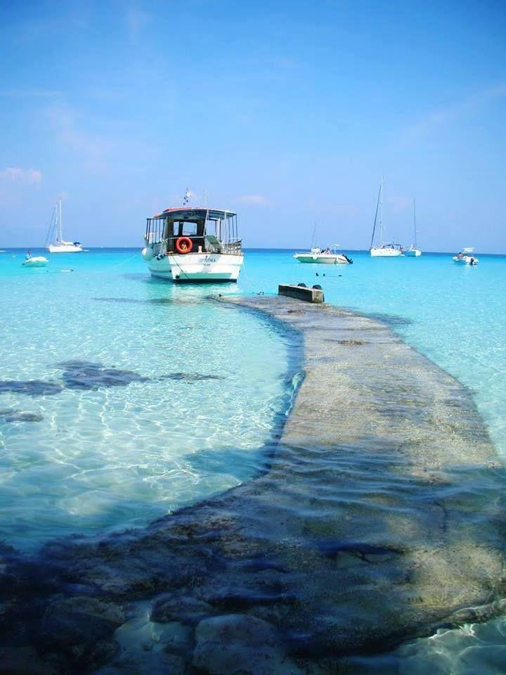 PAXOI ISLAND W GREECE