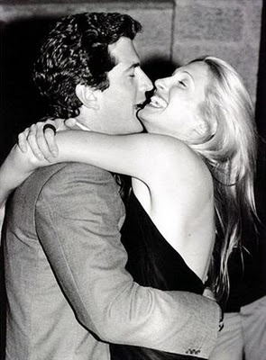 Carolyn Bessette & John Kennedy...pre marriage.