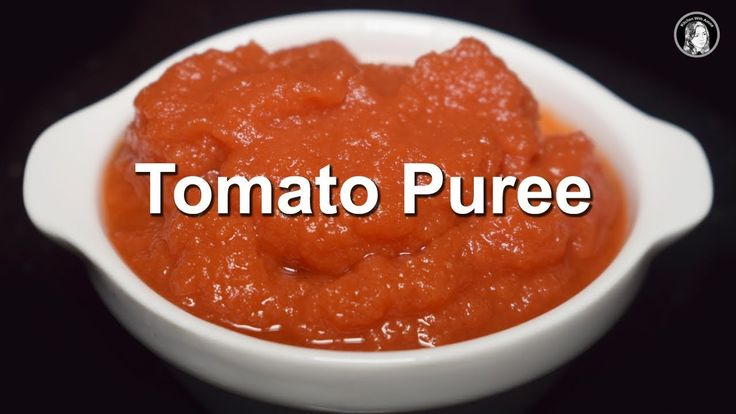 Homemade Tomato Puree | How to make Perfect Tomato Puree | Tomato Puree ...
