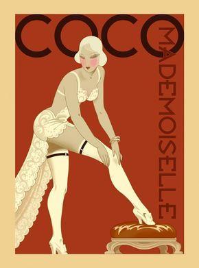 Coco Chanel Poster Artwork