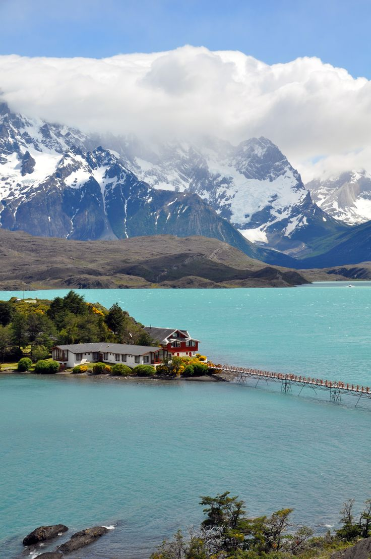 Lago Pehoe in Torres del Paine National Park | Awesome ...