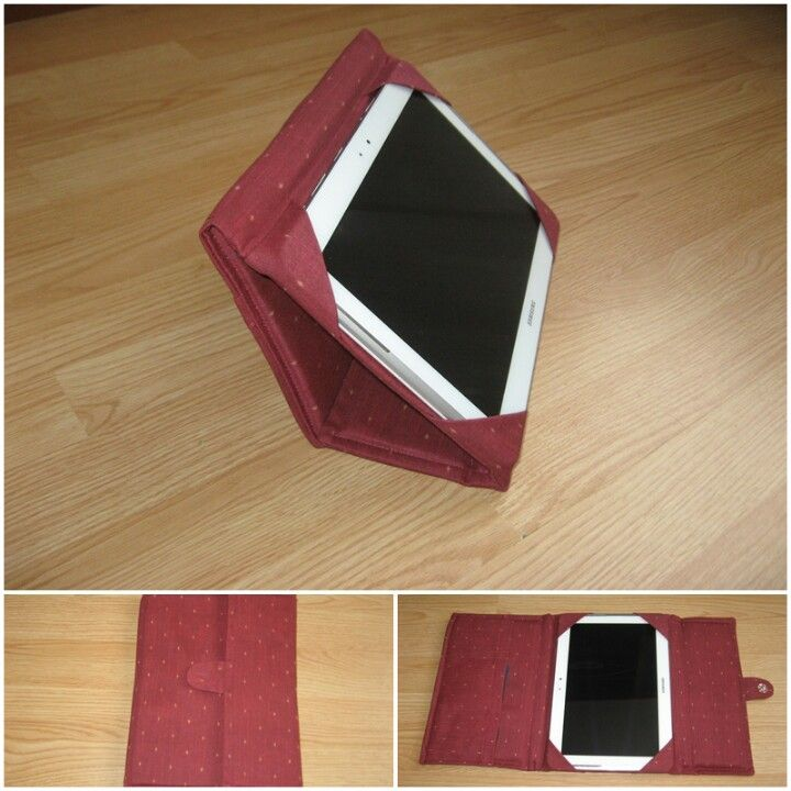 My DIY tablet cover/stand - inspired by Made By Marzipan (see link to tutorial)