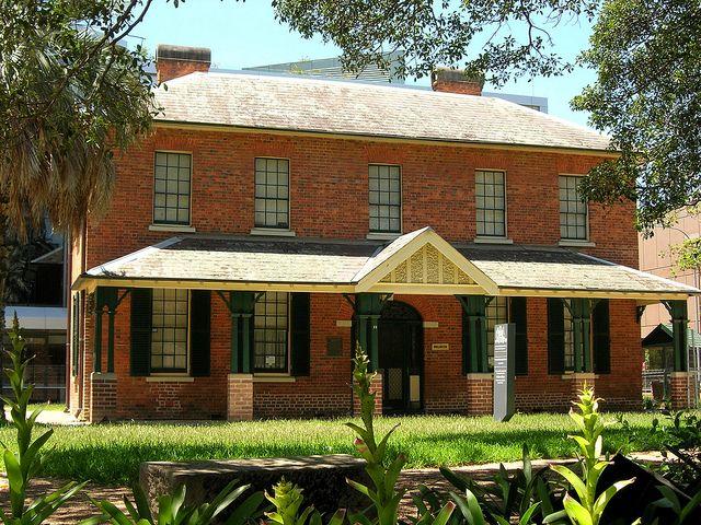 Brislington House - Parramatta. Example of an Australian colonial home.