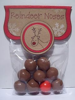 Love these -could be made from maltesers and jaffas