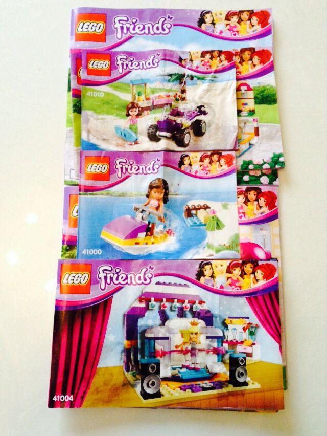 Lego Friends Instructions.
