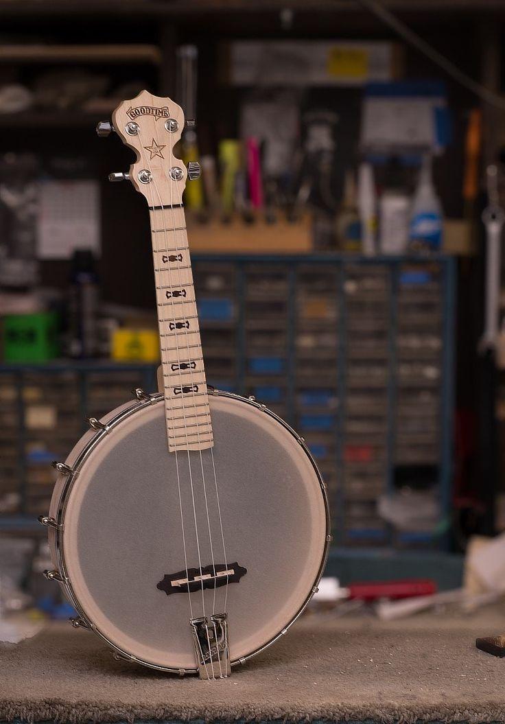 Used Deering Goodtime Banjo Ukulele - Concert Scale