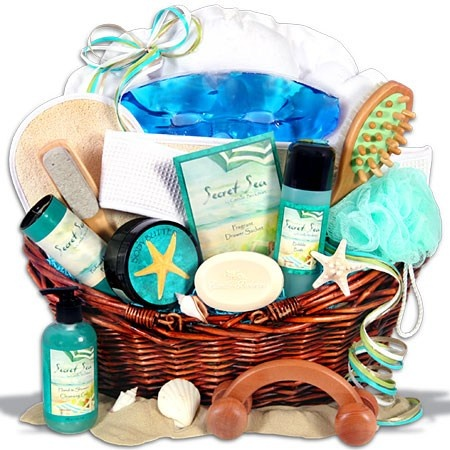 Facial spa gift baskets consider, that