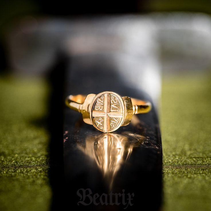 Byzantine stamp ring Era: 7th-12th century