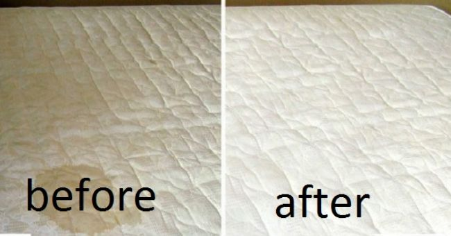 how to get out dried blood stains on mattress