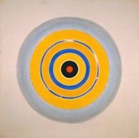 Kenneth Noland, Abstract Expressionist Painter