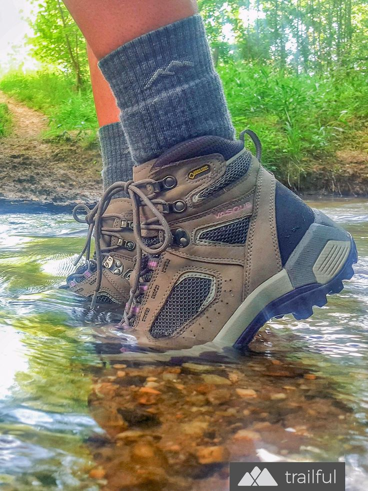 The Womens Vasque Breeze 2.0 GTX hiking boot is dependably waterproof, thanks to a GORE-TEX lining, making it a perfect boot for hiking the South's river and creek valleys