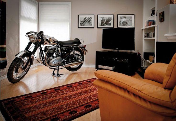 Storing a bike indoors... - Redline Superbike