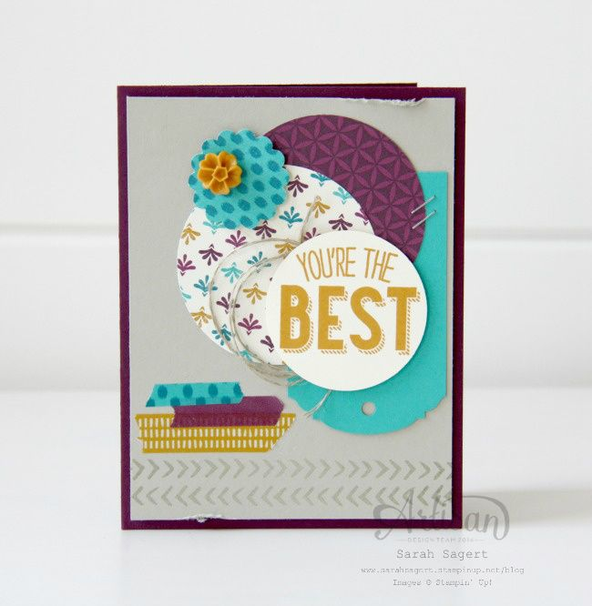 Bohemian & Friendly Wishes Stamp Sets ~ Sarah Sagert