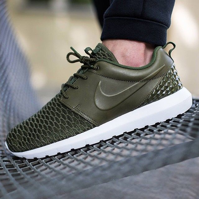 Leather and Flyknit give the Nike Roshe a level of luxury like never  before. Get
