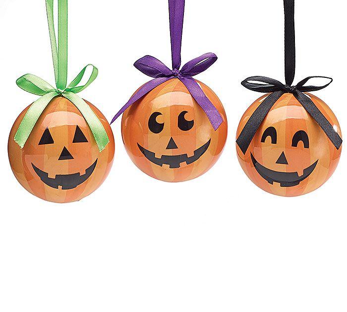 Jolly Jack Ornaments for Halloween! #burtonandburton