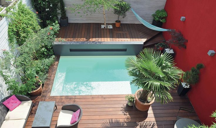 142 best Jardin images on Pinterest Swimming pools, Backyard ideas