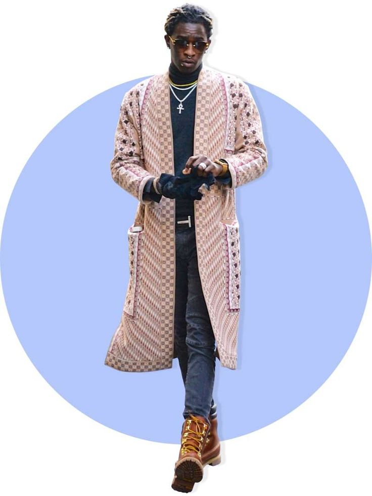 The 64 Most Stylish Men of 2016:      Young Thug:   The rapper rocks tracksuits. And diamonds. And high‐fashion photo shoots. Each venture reeks of originality; turns out Young Thug is an old style pro.