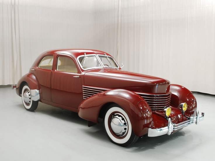 1936 Cord 810 Westchester - (Auburn Automobile Company, Connersville, Indiana 1929-1937)